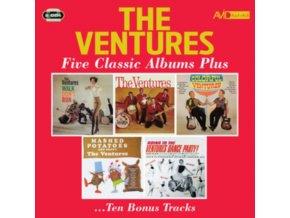 VENTURES - Five Classic Albums (CD)