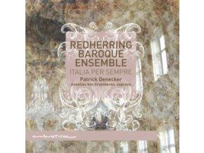 REDHERRING BAROQUE ENSEMBLE - Italia Per Sempre (CD)