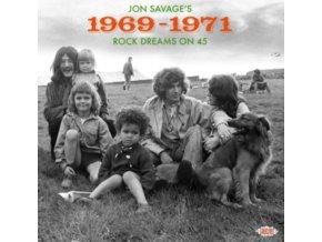 VARIOUS ARTISTS - Jon Savages 1969-1971 Rock Dreams On 4 (CD)