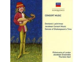 PHILOMUSICA OF LONDON / JACOBEAN ENSEMBLE / THURSTON DART - Consort Music (CD)