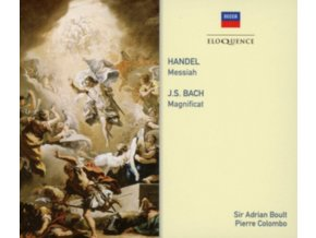 SIR ADRIAN BOULT / PIERRE COLOMBO - Handel: Messiah / Bach: Magnificat (CD)