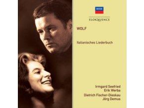 IRMGARD SEEFRIED / DIETRICH FISCHER-DIESKAU - Wolf: Italianisches Liederbuch (CD)