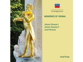 JOSEF KRIPS / LONDON SYMPHONY & VIENNA PHIL ORCHESTRAS - Memories Of Vienna - Johann Strauss I & II (CD)