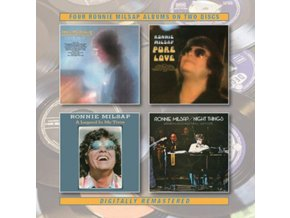 RONNIE MILSAP - Where My Heart Is / Pure Love / A Legend In My Time / Night Things (CD)