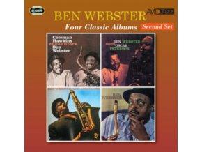 BEN WEBSTER - Four Classic Albums (CD)
