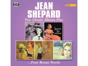 JEAN SHEPARD - Five Classic Albums Plus (CD)