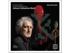 MARIO BRUNELLO - J.S. Bach: Sonatas And Partitas For Solo Violoncello Piccolo (CD)