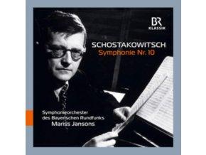BAVARIAN RADIO SO / JANSONS - Dmitri Shostakovich: Symphonie No. 10 (CD)