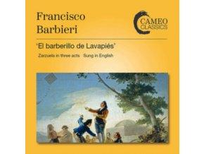 BBC CHORUS / RPO - Francisco Barbieri: El Barberillo De Lavapies (The Little Barber Of Lavapies) - Complete Opera (CD)
