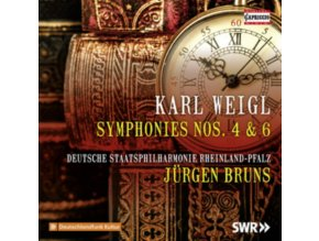 DEUT STAATSPHIL RHEINLAND - Karl Weigl: Symphony No. 4 In F Minor & Symphony No. 6 In A Minor (CD)