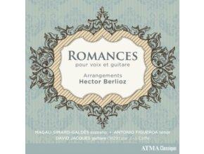 MAGALI SIMARD-GALDES / ANTONIO FIGUEROA & DAVID JACQUES - Berlioz: Romances Pour Voix Et Guitare (CD)