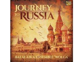BALALAIKA ENSEMBLE WOLGA - Journey To Russia (CD)