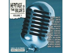 VARIOUS ARTISTS - Heritage Of The Blues Compilation (CD)