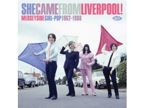 VARIOUS ARTISTS - She Came From Liverpool! Merseyside Girl Pop 1962-1968 (CD)