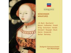 STUTTGARTER KAMMERORCHESTER / KARL MUNCHINGER - Munchinger Miniatures (CD)