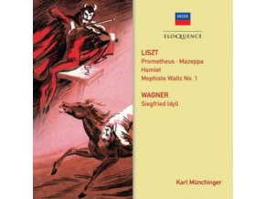 PARIS CONSERVATOIRE / STUTTGART CHAMBER ORCHESTRAS / MUNCHINGE - Liszt: Prometheus / Mephisto Waltz No. 1 / Mazeppa / Hamlet (CD)