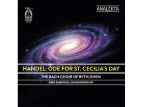 BACH CHOIR OF BETHLEHEM - Handel Ode For St Cecilias Da (CD)