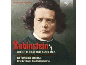 DUO PIANISTICO DI FIRENZE - Rubinstein: Music For Piano Four Hands. Vol. 2 (CD)