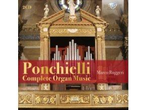 MARCO RUGGERI - Ponchielli: Complete Organ Music (CD)