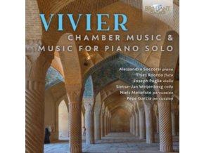 ALESSANDRO SOCCORSI / THIES ROORDA / JOSEPH PUGLIA / SIETSE-JAN WEIJENBERG / NIELS MELIEFSTE / PEPE GARCIA - Vivier: Chamber Music & Music For Piano Solo (CD)