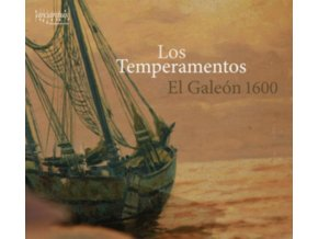 LOS TEMPERAMENTOS - El Galeon 1600 (CD)
