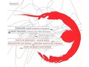 ALAIN RAES / ORCHESTRE DE DOUAI / SVETLIN ROUSSEV - Lalo & Roussel: Symphonic Works (CD)
