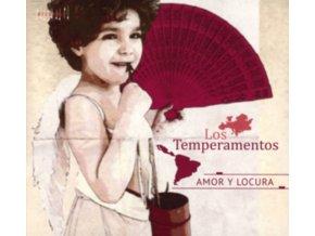 LOS TEMPERAMENTOS - Amor Y Locura (CD)