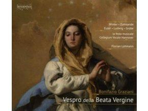 VERONIKA WINTER / HANNA ZUMSANDE / COLLEGIUM VOCALE HANNOVER - Vespro Della Beata Vergine (CD)