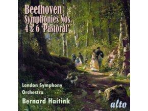 LONDON SYMPHONY ORCHESTRA / BERNARD HAITINK - Beethoven Symphonies 4 & 6 Pastoral (CD)