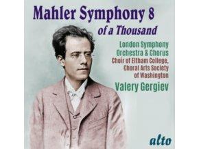 LONDON SYMPHONY ORCHESTRA & CHORUS / VALERY GERGIEV - Mahler: Symphony No.8 Of A Thousand (CD)