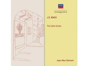JEAN-MAX CLEMENT - J.S. Bach: Cello Suites (CD)
