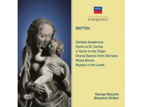 JENNIFER VYVYAN / HELEN WATTS / LSC / LSO / BENJAMIN BRITTEN - Benjamin Britten: Choral Works (CD)