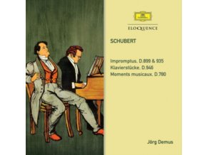 JORG DEMUS - Schubert: Impromptus / Klavierstucke / Moments Musicaux (CD)