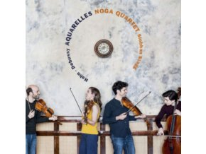 NOGA QUARTET & SIOBHAN STAGG - Aquarelles: Debussy. Hahn (CD)