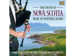 FORRESTERS CAPE BRETON SCOTTISH DANCE COMPANY - The Sound Of Nova Scotia - Music Of Scottish Canada (CD)