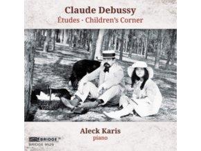 ALECK KARIS - Claude Debussy: Atudes / Childrens Corner (CD)