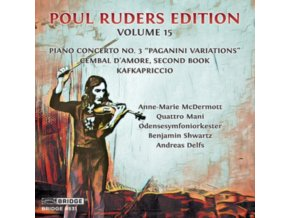 VARIOUS ARTISTS - Poul Ruders Edition. Vol. 15 (CD)