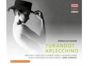 RSO BERLIN / ALBRECHT - Ferruccio Busoni: Turandot / Arlecchino (CD)