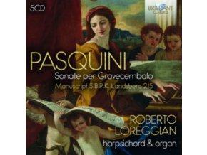 ROBERTO LOREGGIAN - Pasquini: Sonate Per Gravecembalo (CD)
