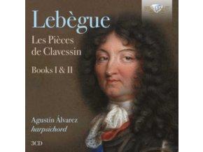 AGUSTIN ALVAREZ - Lebegue: Les Pieces De Clavessin. Books I & II (CD)