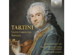 LAURA MARZADORI / NUOVA ORCHESTRA DA CAMERA FERRUCCIO BUSONI / MASSIMO BELLI - Tartini: Violin Concertos. Sonatas (CD)