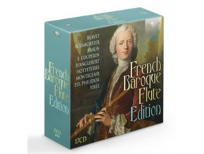 VARIOUS ARTISTS - French Baroque Flute Edition (CD Box Set)