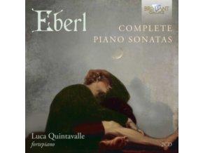 LUCA QUINTAVALLE - Eberl: Complete Piano Sonatas (CD)
