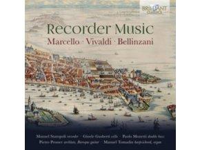 MANUEL STAROPOLI / GIOELE GUSBERTI / PAOLO MONETTI / PIETRO PROSSER / MANUEL TOMADIN - Marcello. Vivaldi & Bellinzani: Recorder Music (CD)
