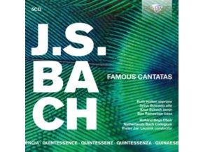 VARIOUS ARTISTS - Quintessence: J.S. Bach Famous Canatas (CD)