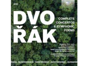 VARIOUS ARTISTS - Quintessence: Dvorak: Complete Concertos & Symphonic Poems (CD)
