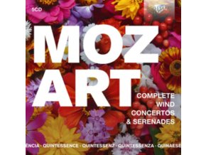 VARIOUS ARTISTS - Quintessence: Mozart: Complete Wind Concertos & Serenades (CD)