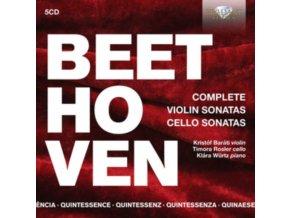 VARIOUS ARTISTS - Quintessence: Beethoven: Complete Violin Sonatas & Cello Sonatas (CD)