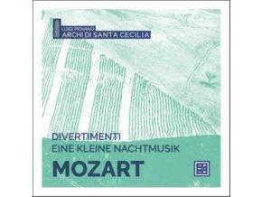 ARCHI DI SANTA CECILIA / LUIGI PIOVANO - Divertimenti & Eine Kleine Nachtmusik (CD)