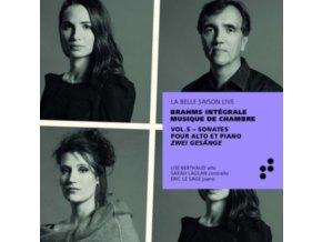 ERIC LE SAGE / LISE BERTHAUD / SARAH LAULAN - Brahms: Sonates Pour Alto Et Piano. Zwei Gesange (CD)